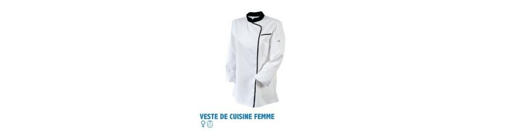 Veste de cuisine femme