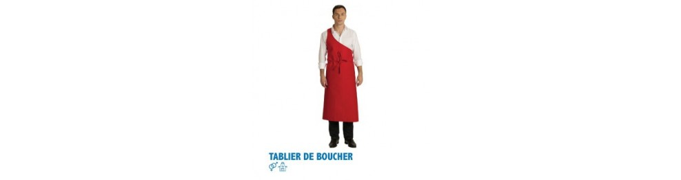 Tabliers de boucher