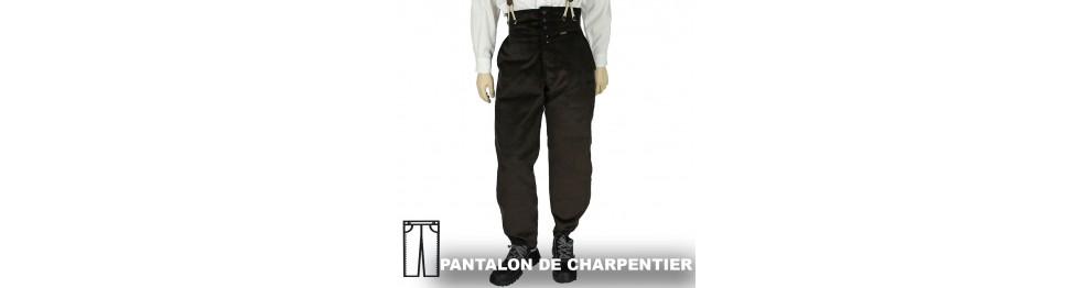 Pantalon de Charpentier Laboureur, FHB et Hasson