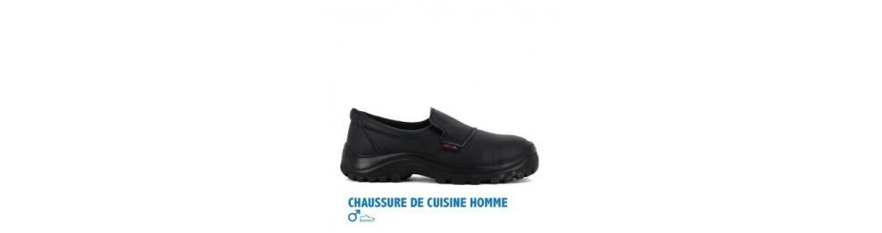 Chaussure de cuisine homme