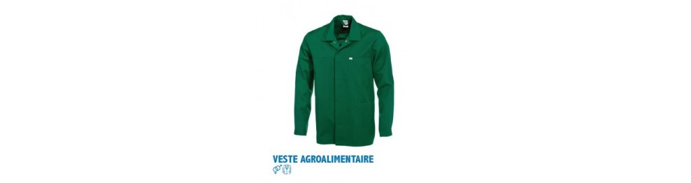 Vestes agroalimentaire
