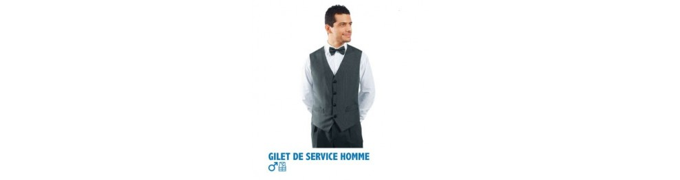 Gilet de service