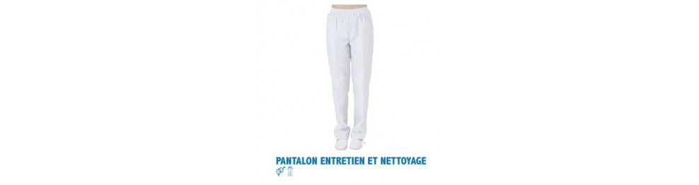 Pantalon entretien/nettoyage